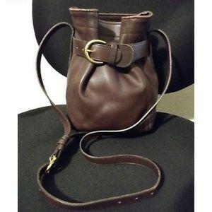 Vintage Coach 4156 Bucket Shoulder Bag